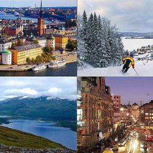 Швеция открыта круглый год для самостоятельных путешествий
