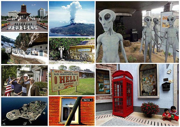 ТОП-10 необычных городов мира со всего света