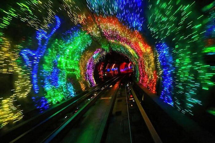 Бунд лучшие туннели мира Путешествие по самым знаменитым туннелям мира