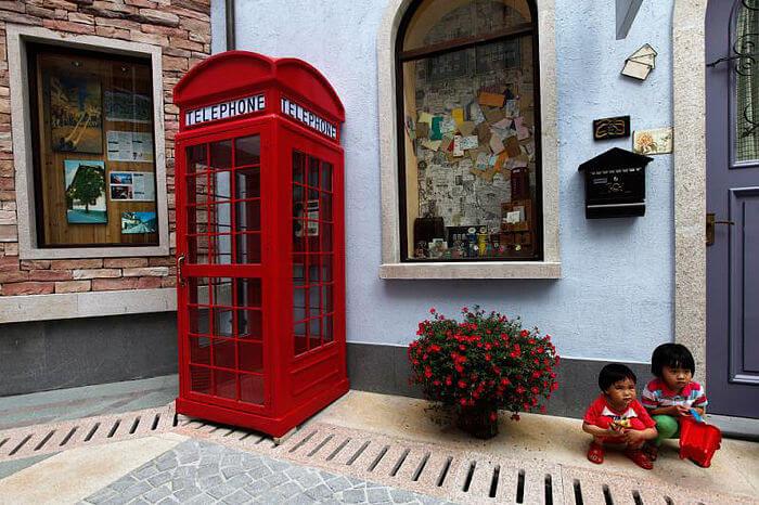 Городок на Темзе, Китай, ТОП-10 необычных городов мира со всего света - FREETURIST