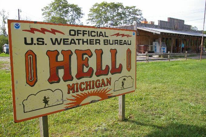 Город-Ад (Hell), Мичган, США, ТОП-10 необычных городов мира со всего света - FREETURIST