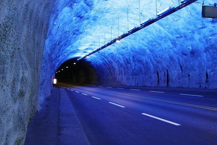 Лердальский туннель лучшие туннели мира Путешествие по самым знаменитым туннелям мира