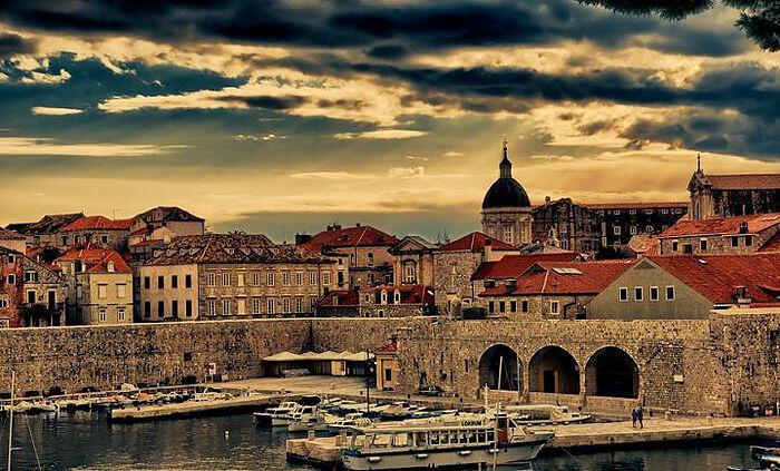 Старый порт Дубровник