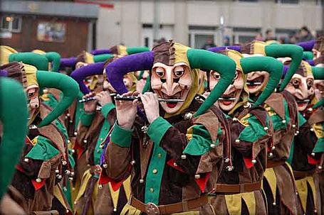 Швейцарский карнавал