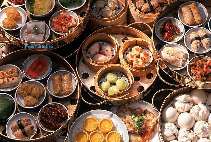 China, Dim Sum, chinese food selection