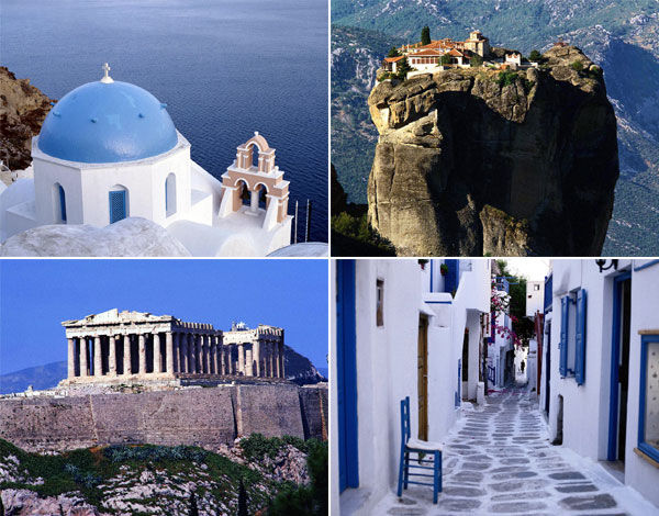 Греция по-быстрому