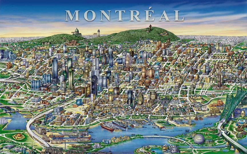 Замечательный и необычный город Монреаль