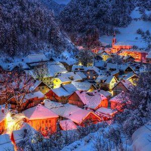 Зимняя Европа