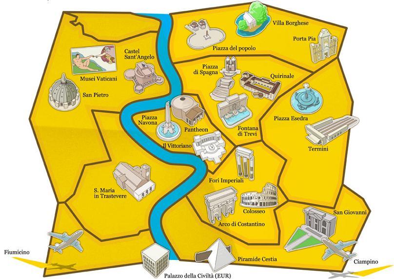 Рим: экскурсия по историческому центру