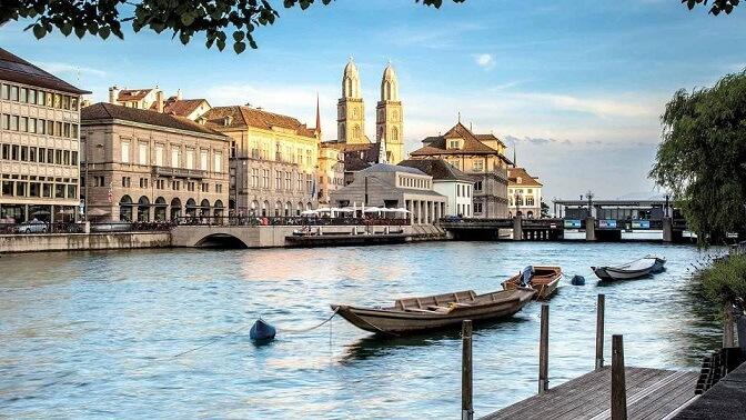 Счастливый город Цюрих