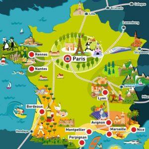 Франция – мечта путешественников