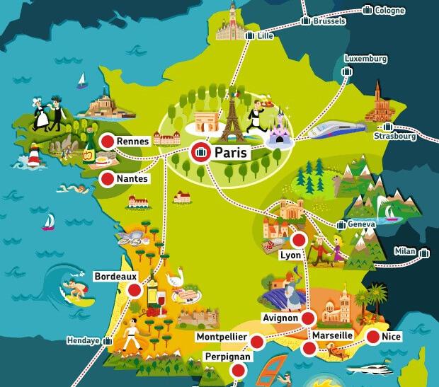 Франция - мечта путешественников