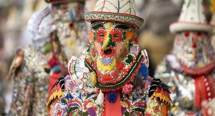 Зимние карнавалы в Австрии