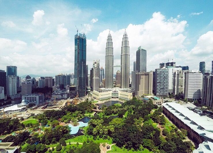 Волшебный и современный город Куала-Лумпур, Малайзия