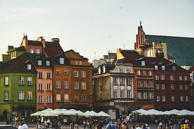 Варшава является столицей Польши