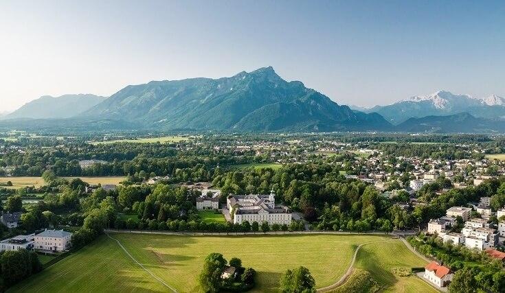 Достопримечательности Австрии: город Зальцбург