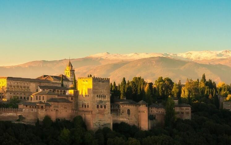 Всё про Замок Альгамбра, город Гранада, Испания