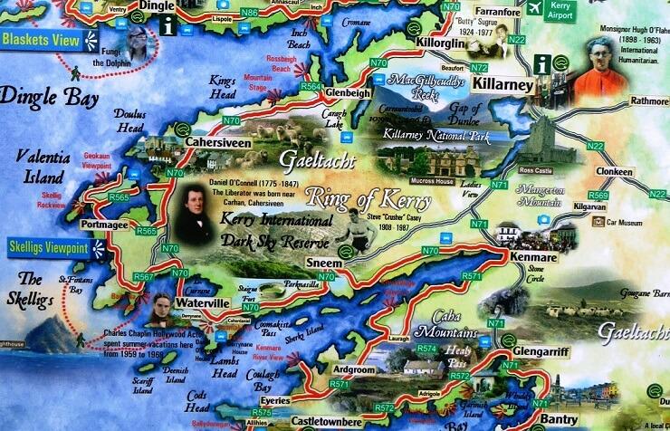 Остров Ирландия: города, достопримечательности, экскурсии
