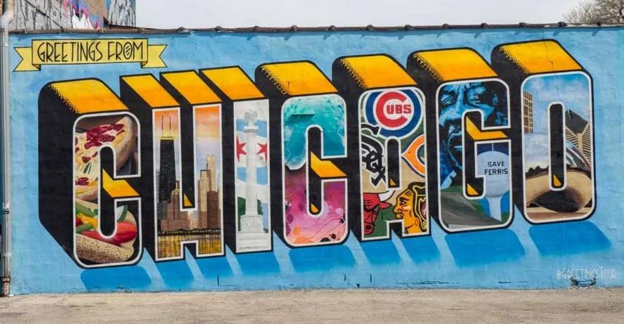 граффити чикаго