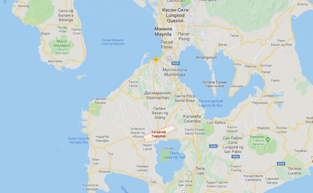 5 вещей, которые нужно увидеть в Тагайтай, Филиппины