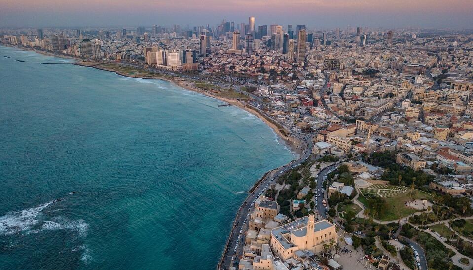 Интересные достопримечательности в городе Тель-Авив, Израиль